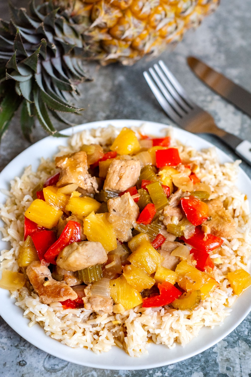 Hawaiian Pork (in a Slow Cooker)